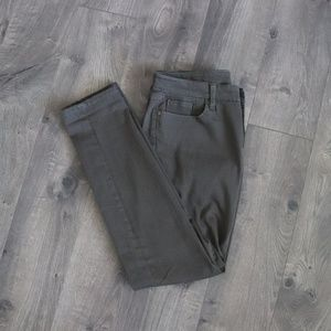 Gap Premium Skinny Denim Jeans Army Olive 4 Or 27